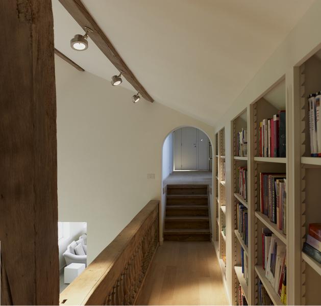 Exclusieve en karaktervolle hoeve landhuis - Mezzanine verlichting ...