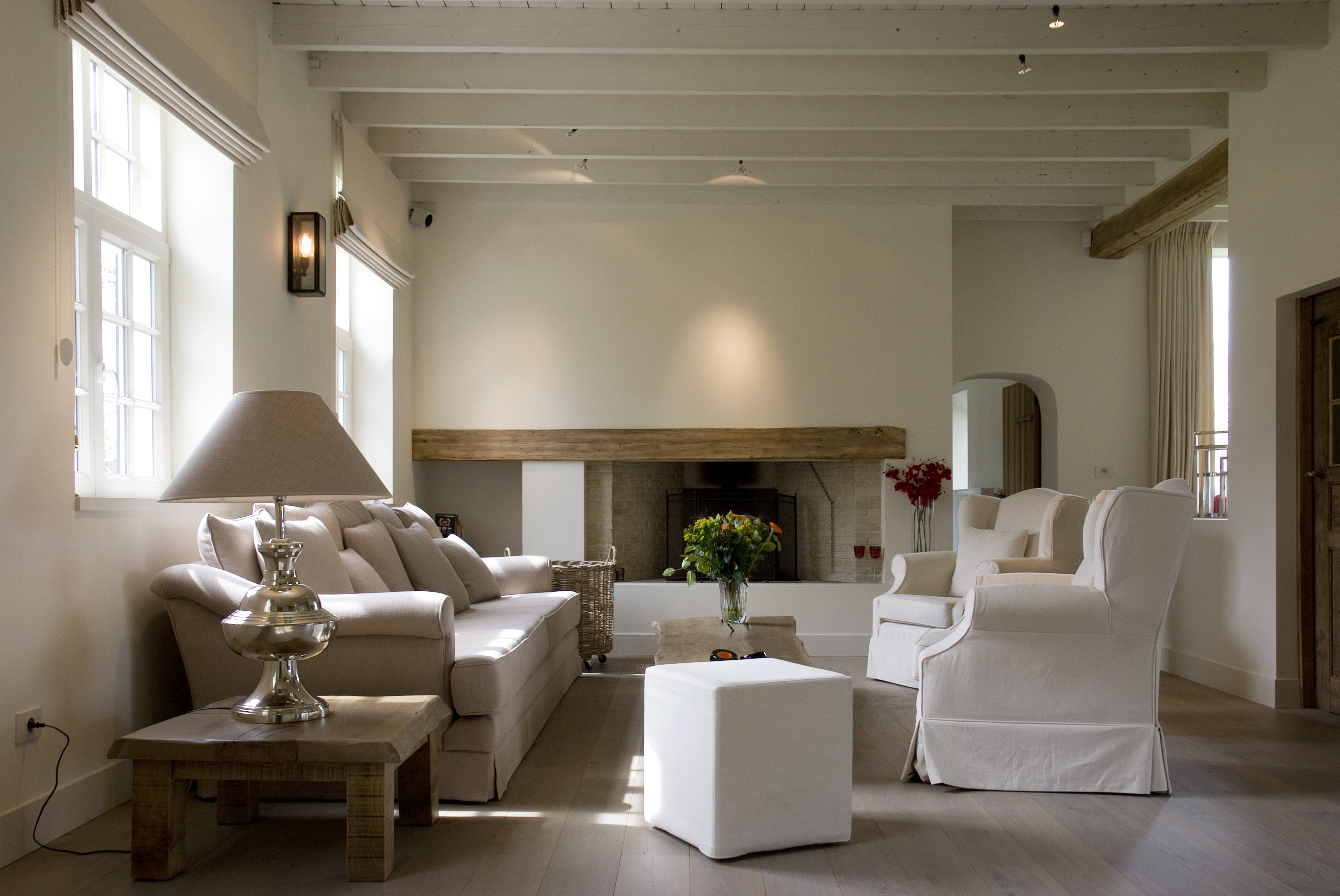 Exclusieve en karaktervolle hoeve landhuis - Renovatie huis exterieur voor na ...
